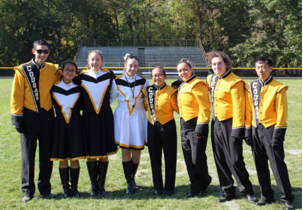 The+seniors+of+the+Cresskill+High+School+Marching+Band