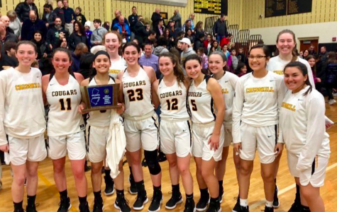 The Cresskill Girls' Varsity team on Monday after their win over Park Ridge (photo from Jennifer Garcia's Instagram)