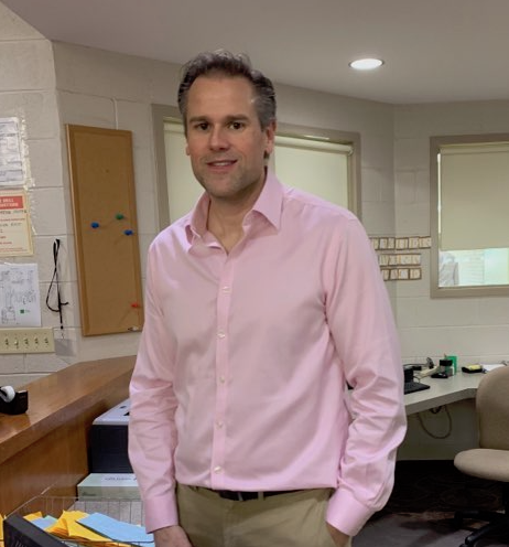 Mr. Jason Carini, Cresskill High School's new business teacher