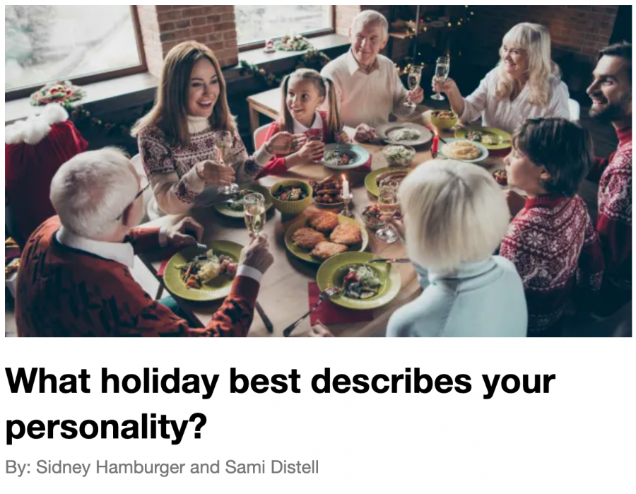 What holiday best describes your personality?